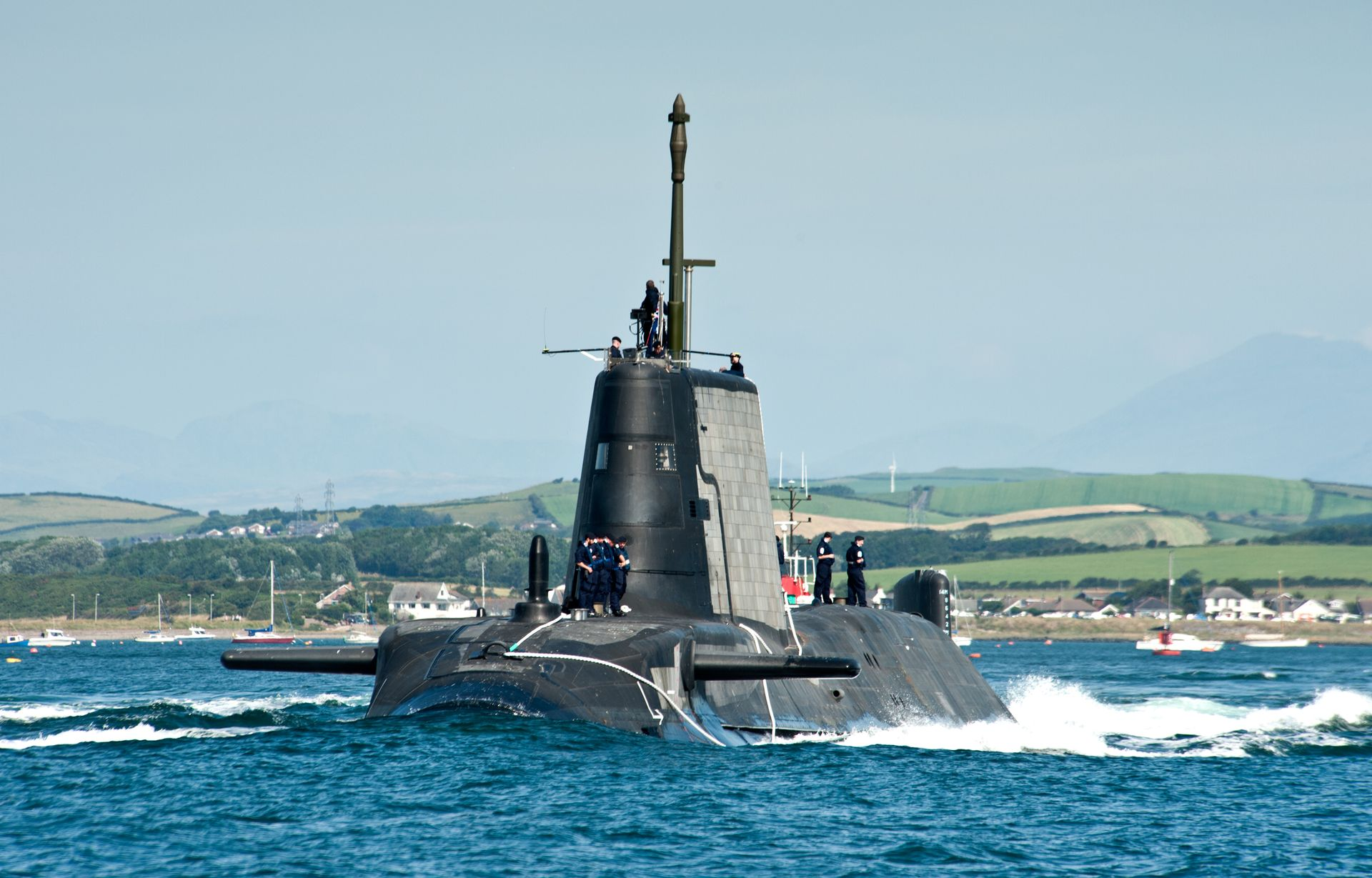 Royal Navy Commissions Astute Class submarine HMS Artful