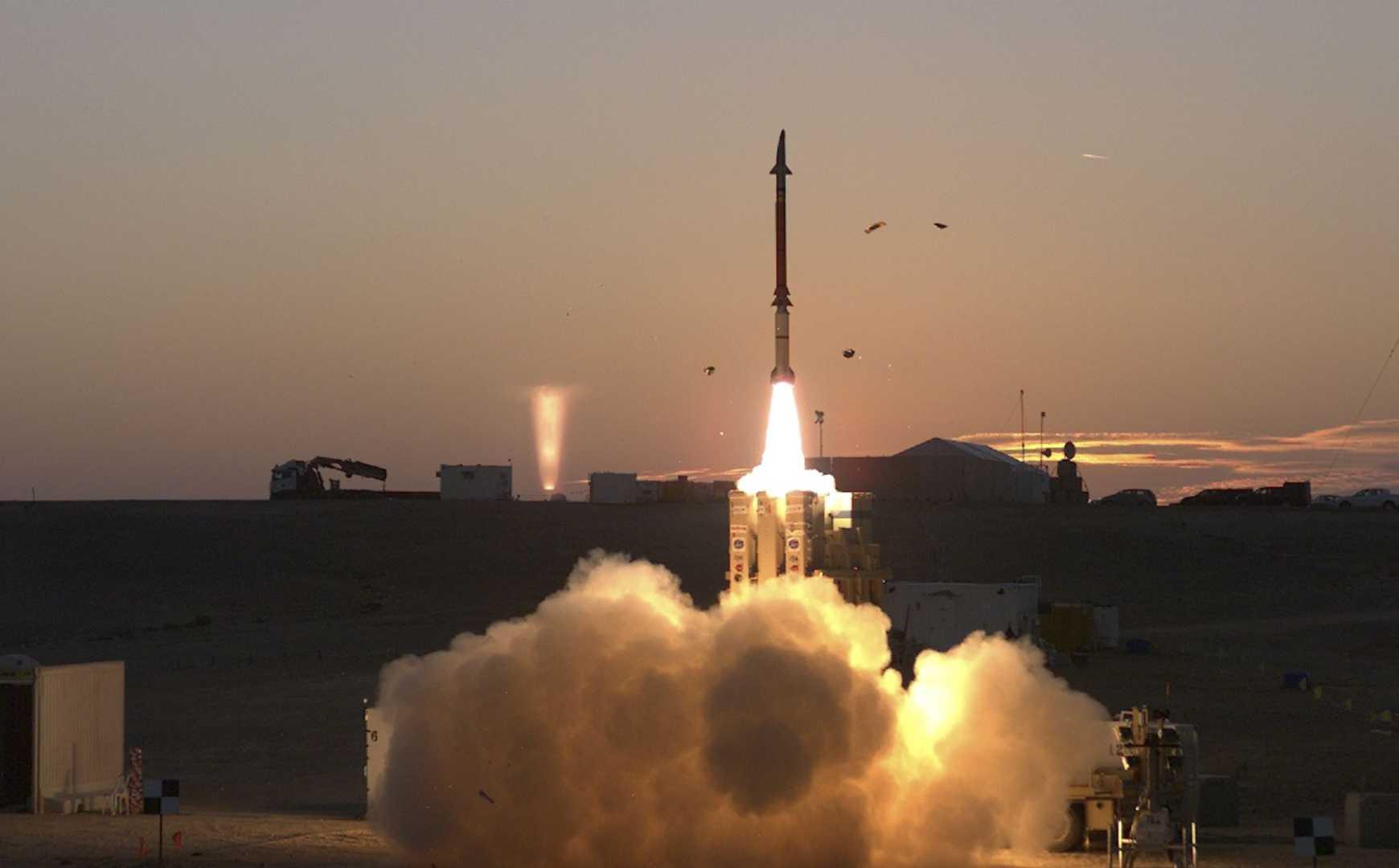 David's Sling missile defense system