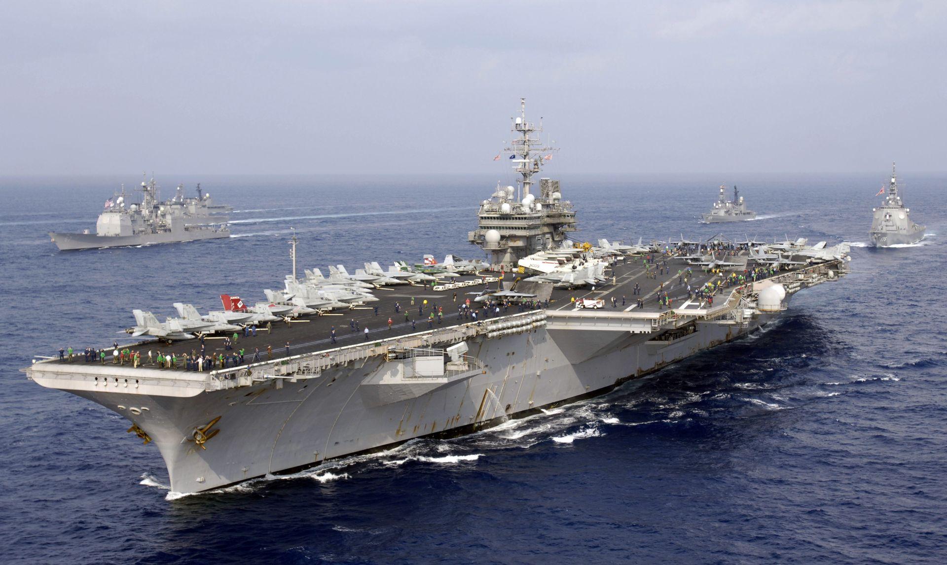 aircraft carrier USS Kitty Hawk (CV 63)