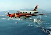 TC-90 training aircraft