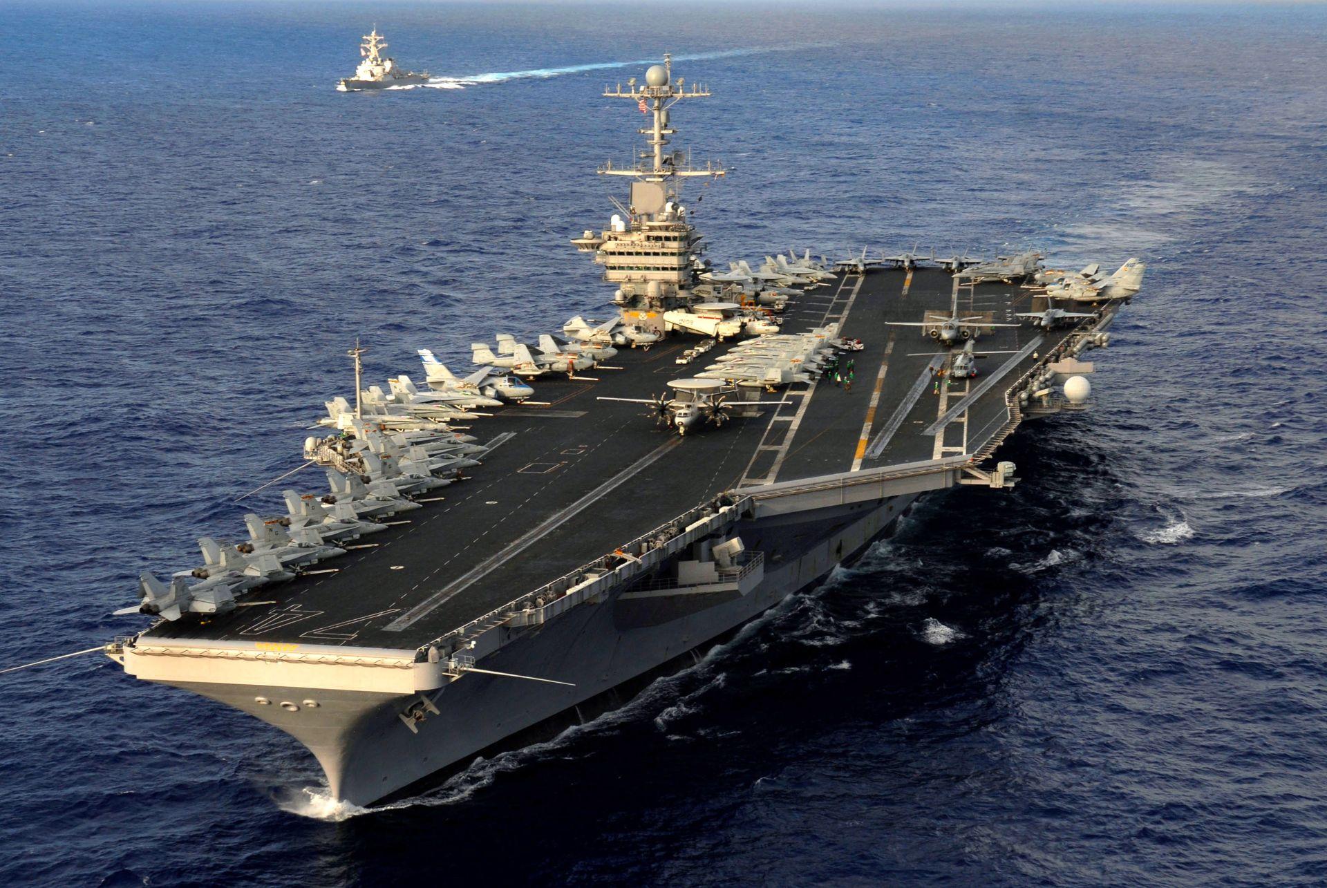 US aircraft carriers start drills off PhilippinesDefenceTalk com