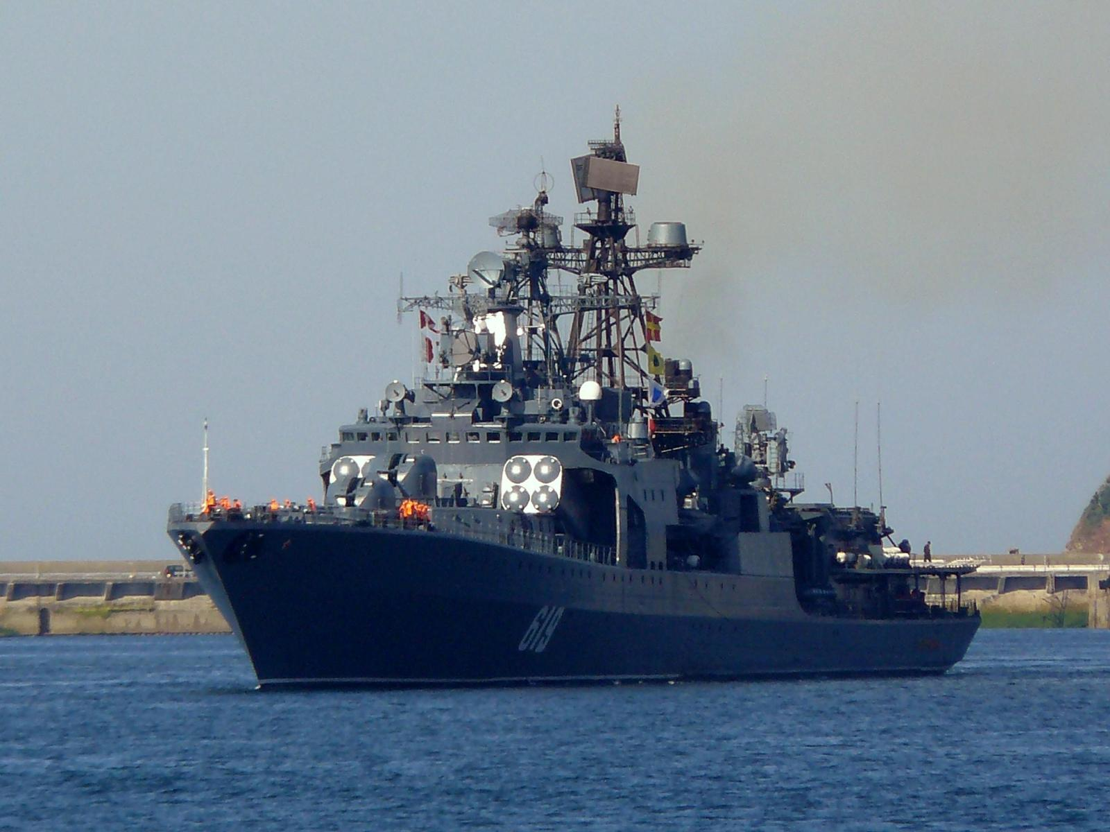 russie - Page 2 Russian-Navy-Udaloy-I-class-anti-submarine-destroyer