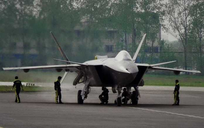 J-20 stealth fighter