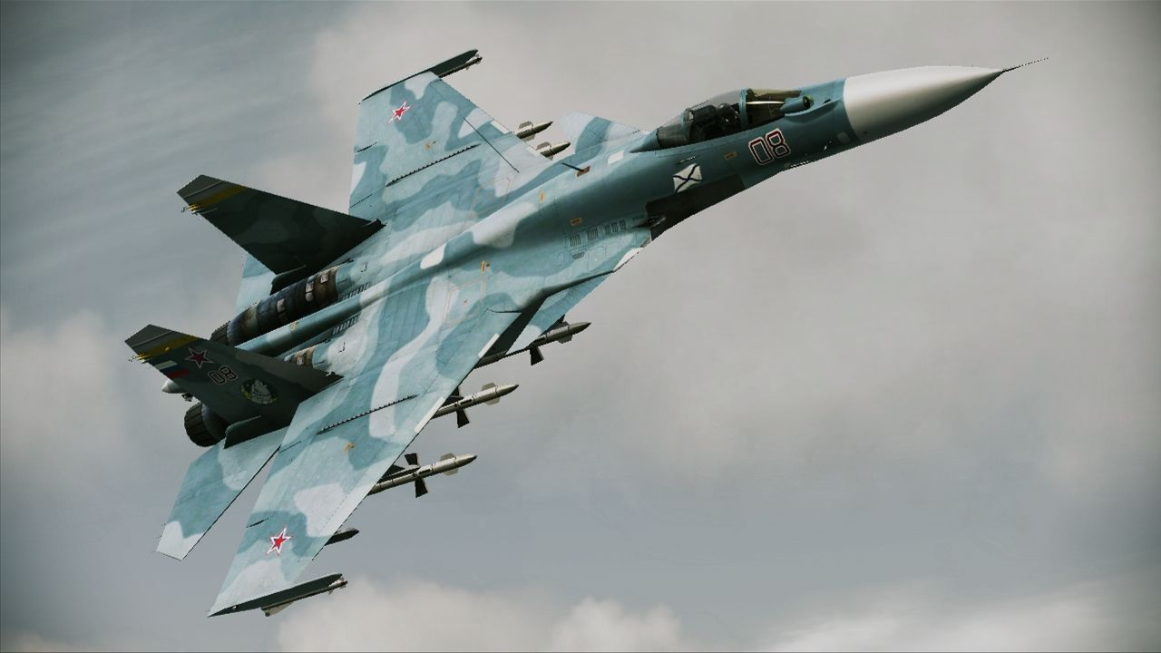 Su-33 naval fighter