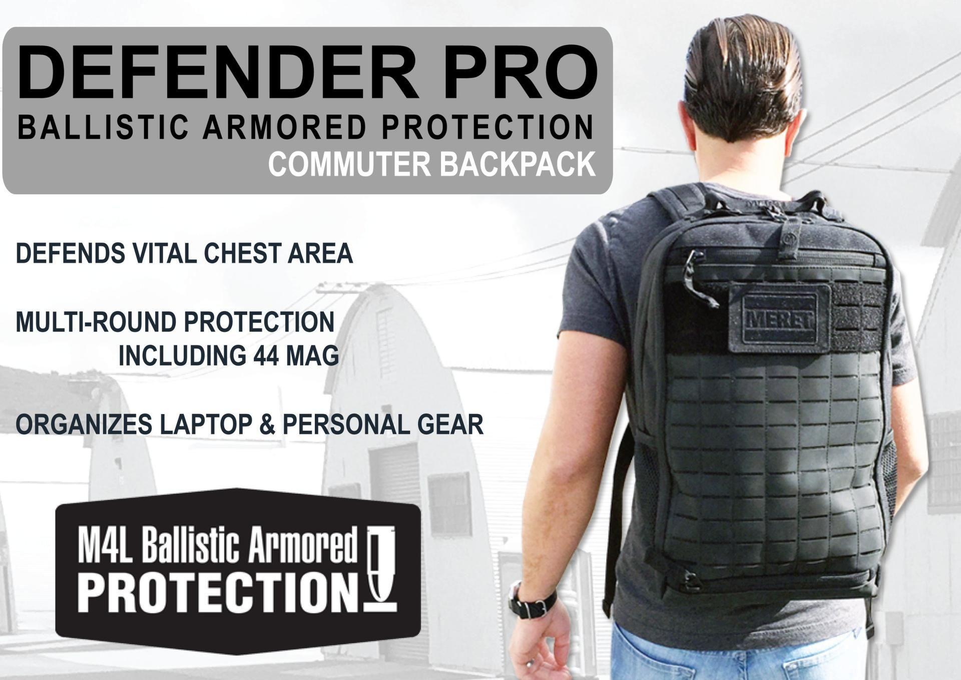 228ba64e64 MERET Unveils New Ballistic Armored Protection BackpacksDefenceTalk ...