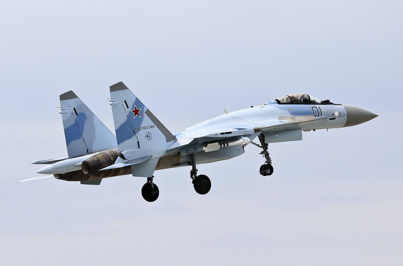 Russia To Supply Ten Su-35 Fighter Jets To China In