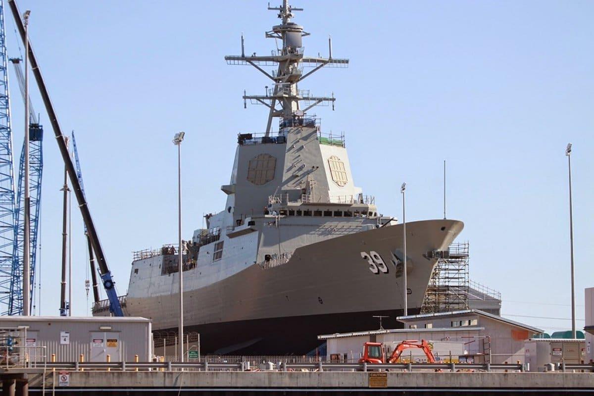 Royal Australian Navy's First Aegis Destroyer Completes Sea TrialsDefenceTalk.com | at ...