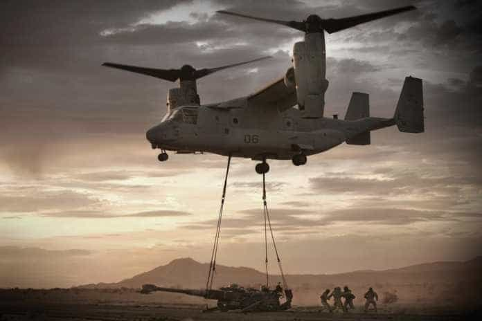 MV-22 Osprey Airlift