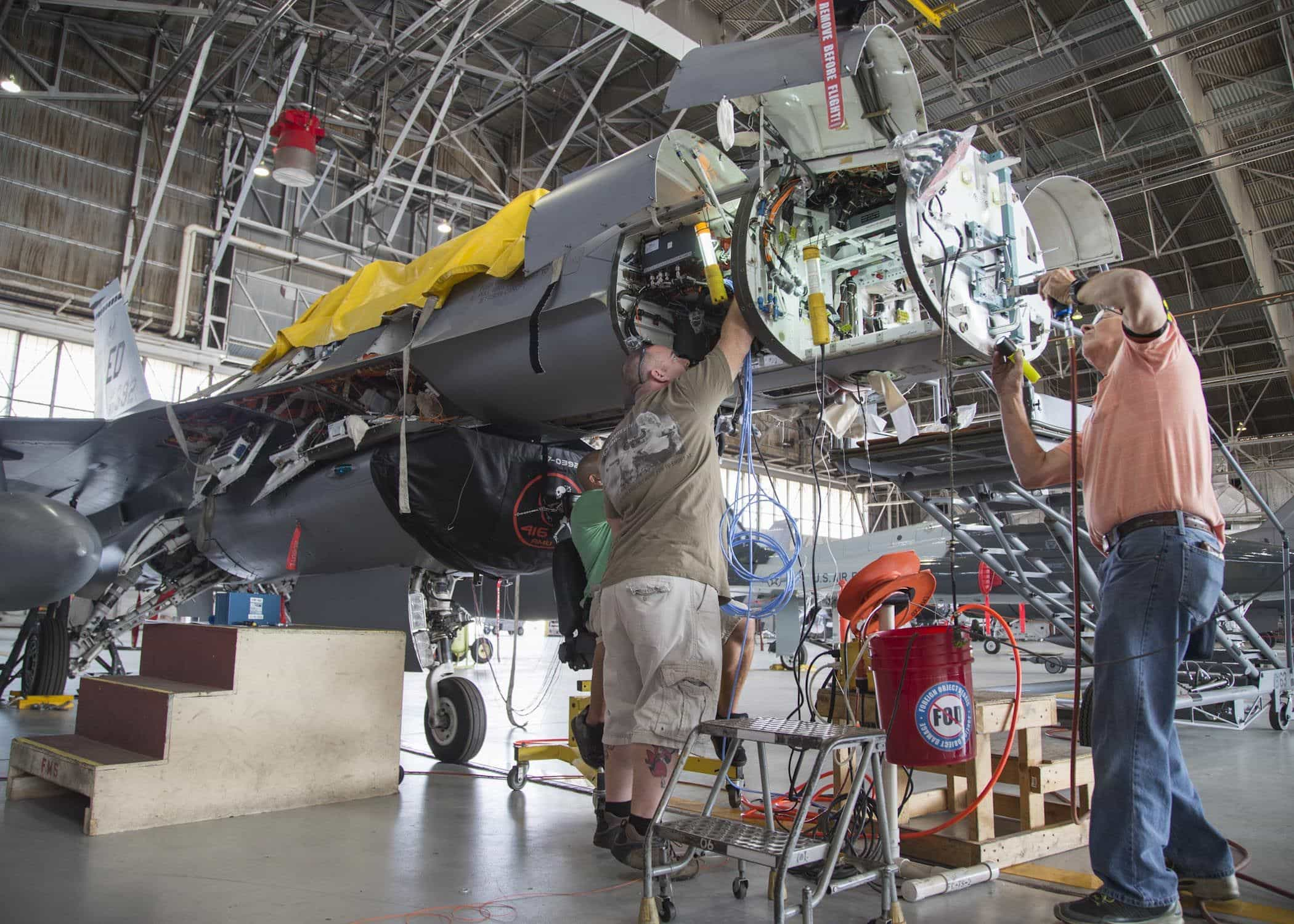 Us Air Force Flts Working To Upgrade F 16 Radardefencetalk