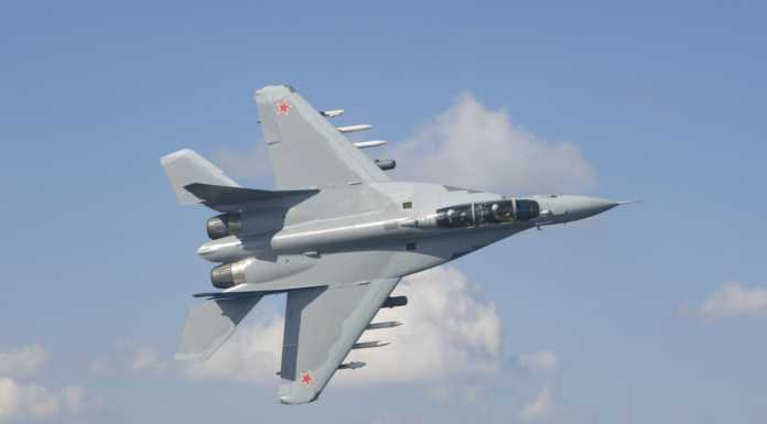 mig-35 fighter aircraft