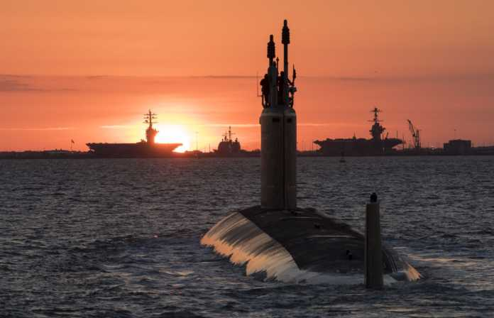 Washington (SSN 787) Delivered to the US Navy