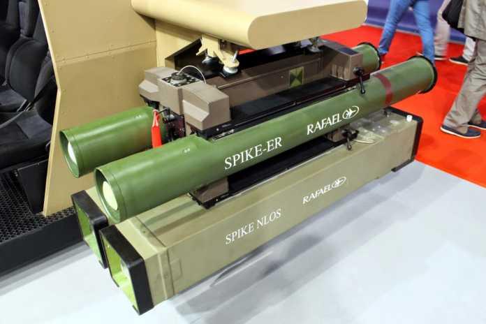 Rafael Unveils Spike LR II Battlefield Missile