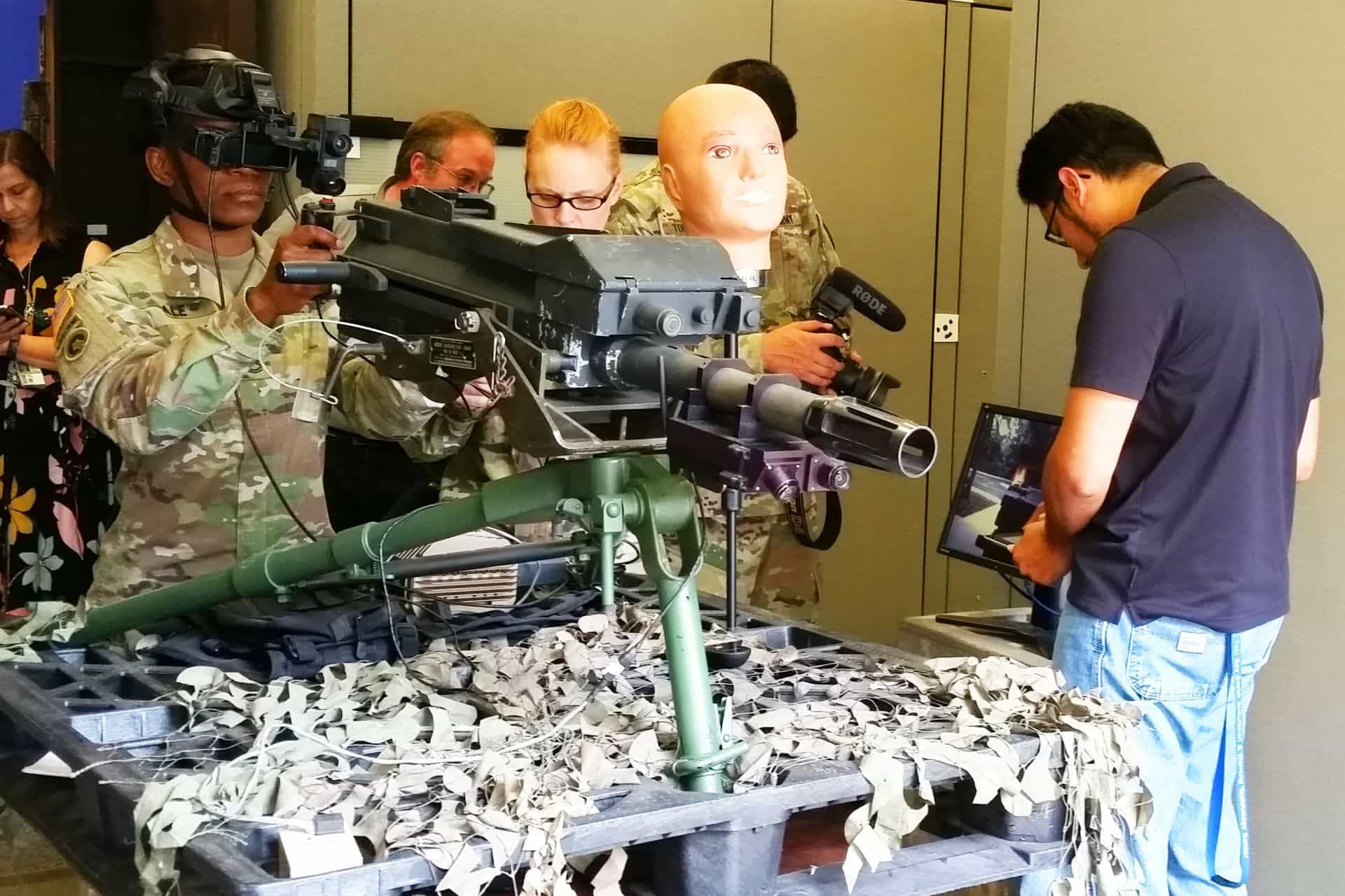 Augmented reality soon possible for MK-19 training | at DefenceTalk