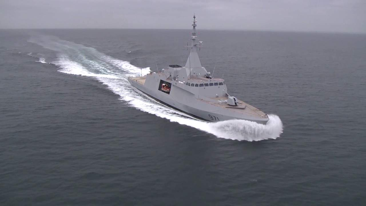 Naval Group Delivers First Gowind2500 Corvette Ens