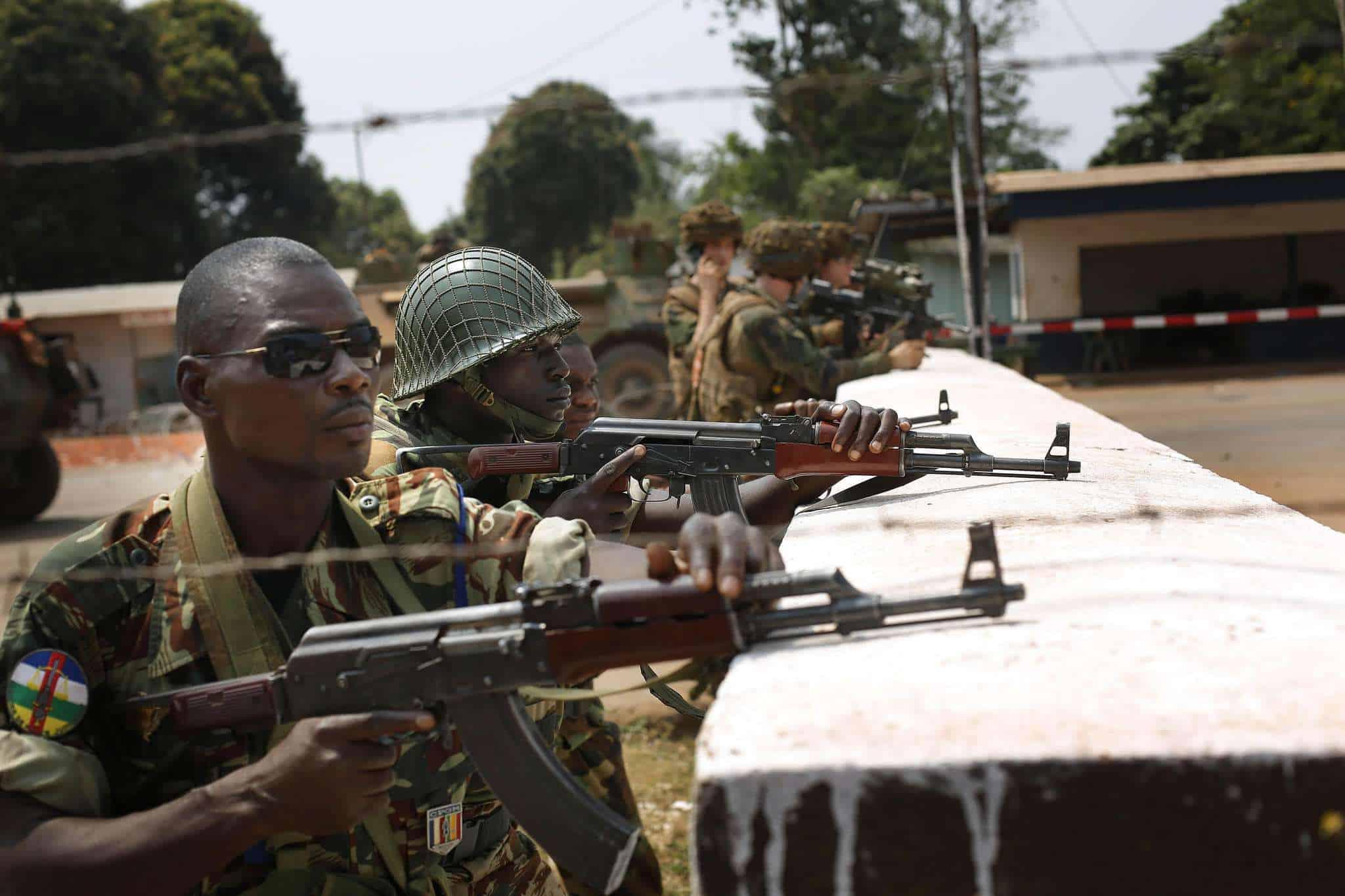 Франция: Россия не способствует стабилизации в Центральноафриканской Республике