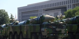 China's DF-21D aircraft carrier killer ballistic missile