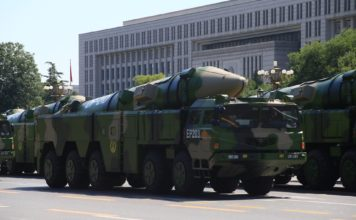 China's DF-21D aircraft carrier killer ballistic missile