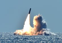 Trident II D5 missile