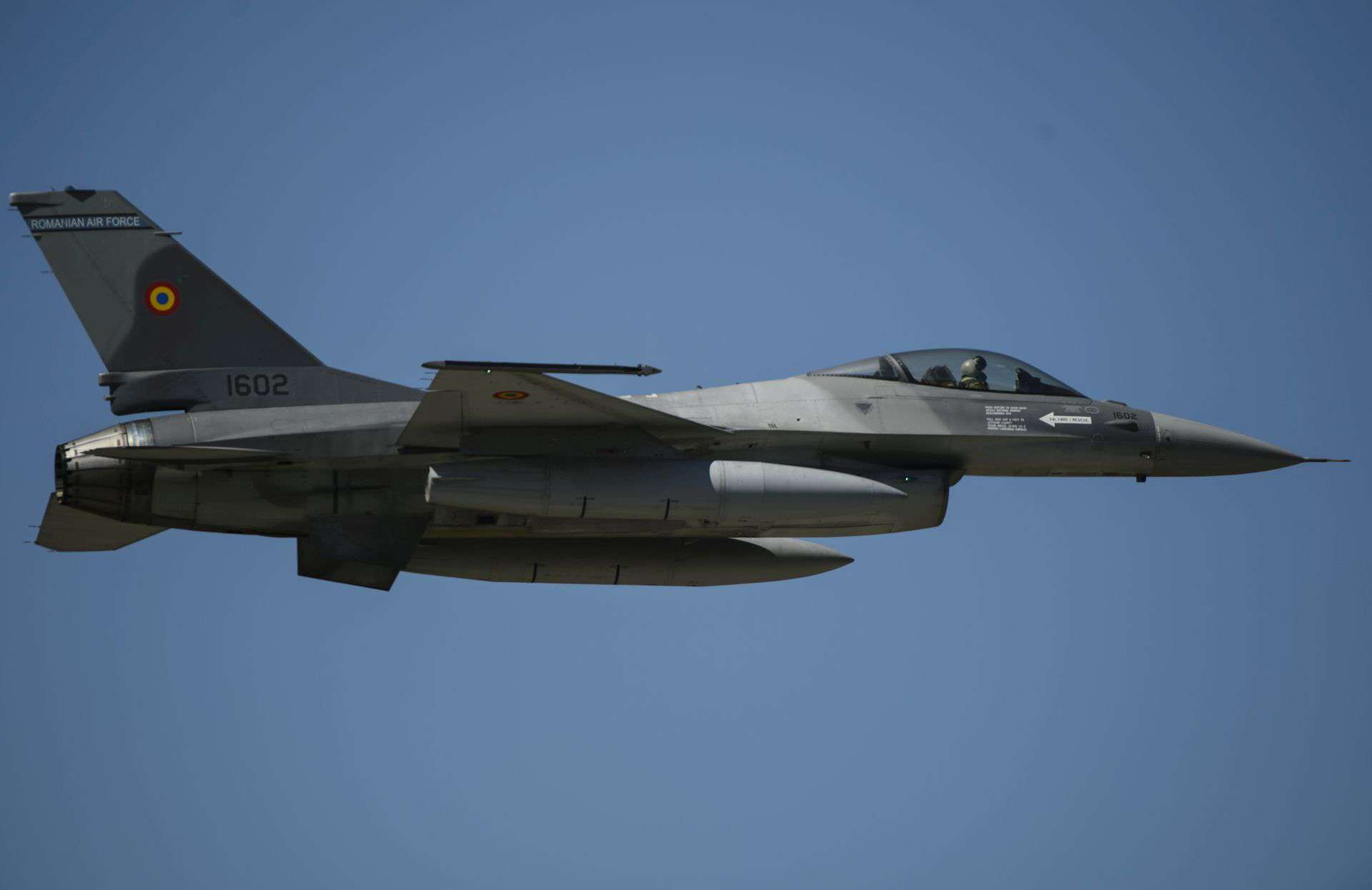 Romanian Air Force F-16 Jet