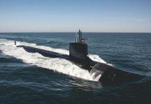 Virginia-class attack submarine USS Delaware (SSN 791