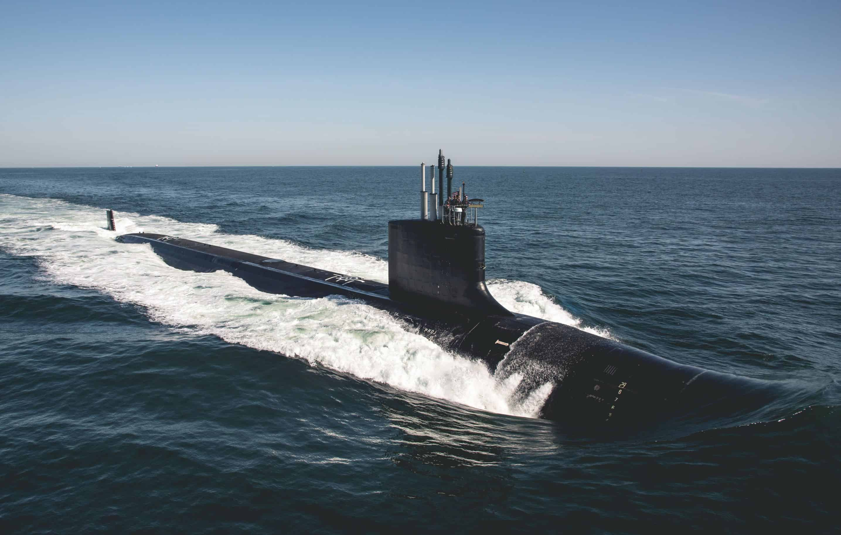 Virginia-class attack submarine USS Delaware (SSN 791
