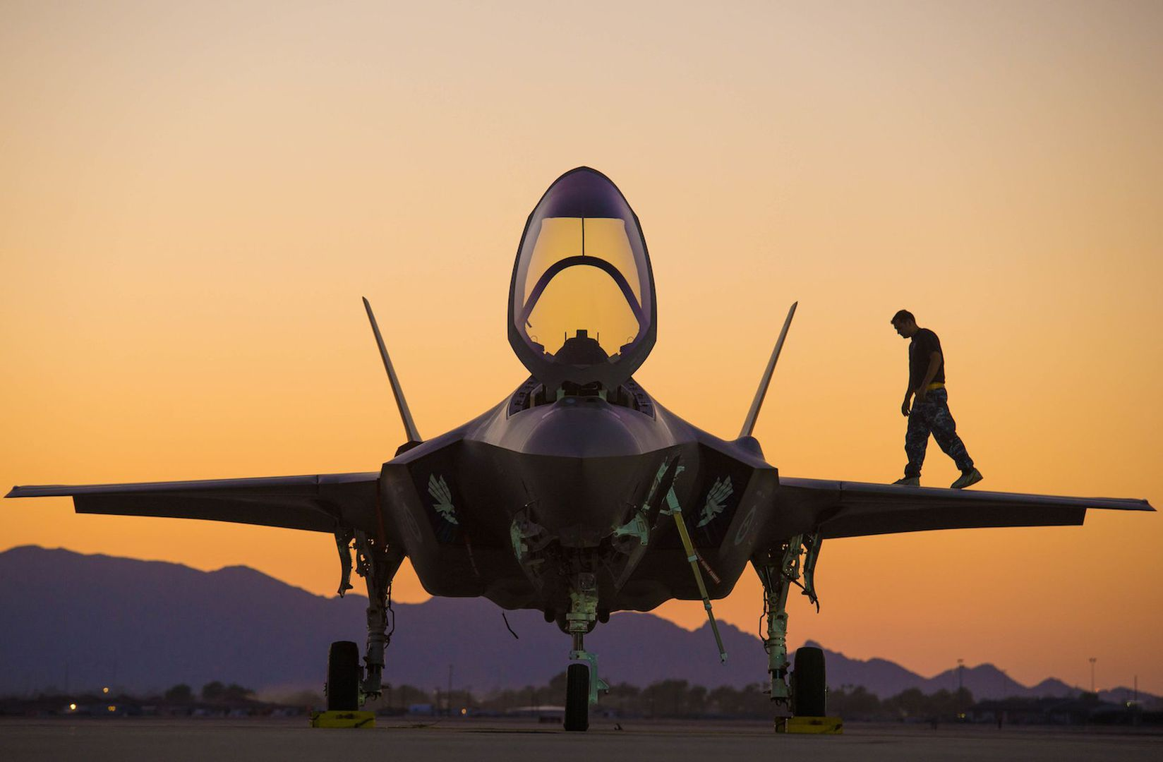F-35A Lightning II Fighter Jet