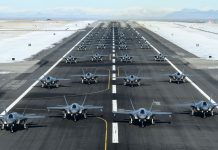 F-35A Combat Power Exercise