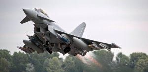 Eurofighter Typhoon Fighter Aircraft