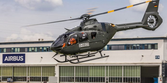 Airbus H135 helicopter