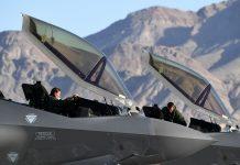 F-35A Lightning II pilots