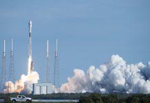 Falcon 9 Starlink rocket